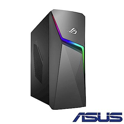 (無卡分期-12期)ASUS GL10CS i7-9700K/GTX1660電競桌上型電腦