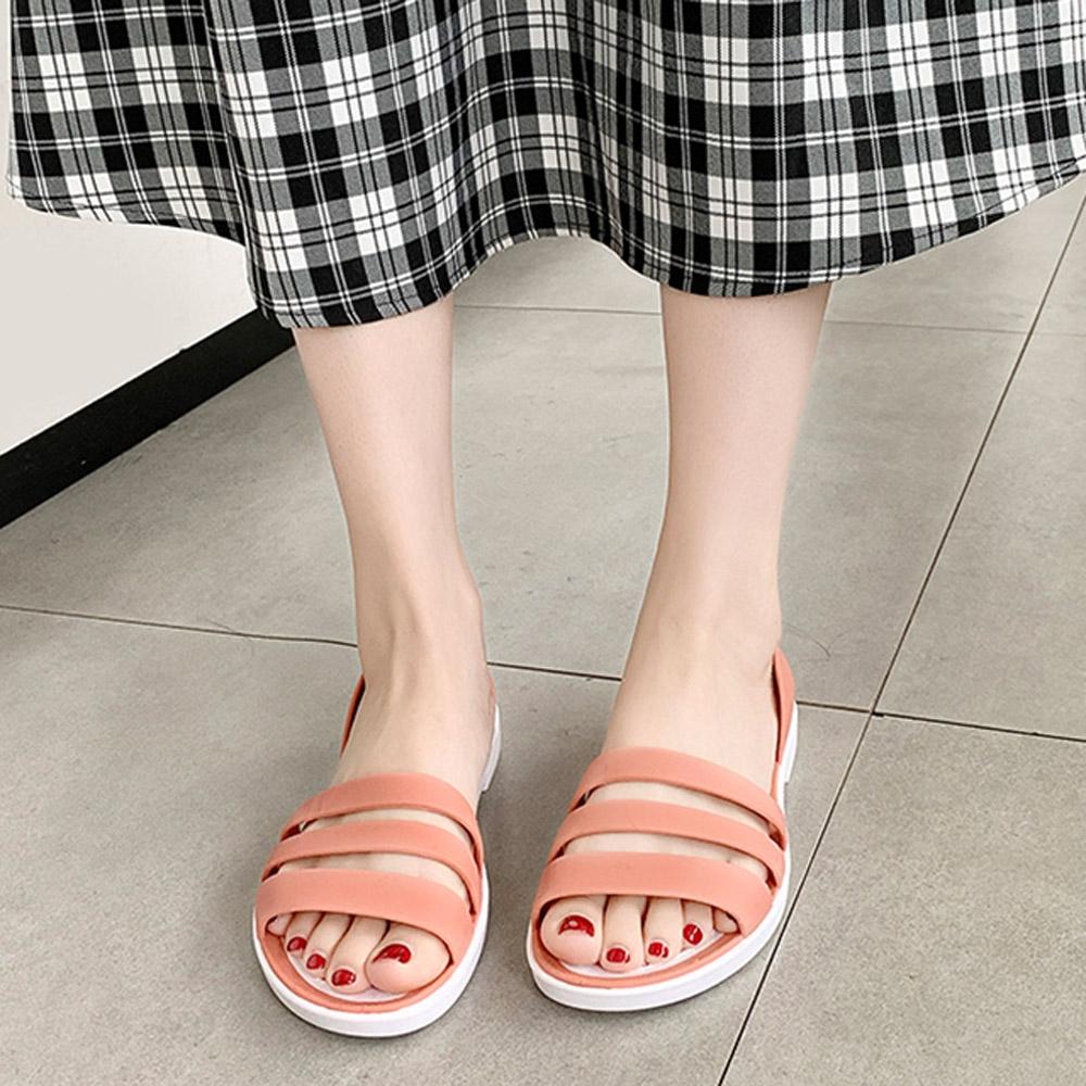 KEITH-WILL時尚鞋館-獨賣輕便生活涼鞋(涼鞋/涼跟鞋)(共3色) (粉色)