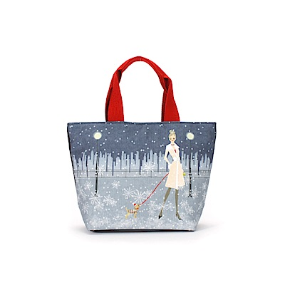 Reiko Aoki青木禮子 Snow View 彩繪托特包