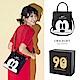 Disney collection by gracegift米奇2way方型提袋-黑 product thumbnail 1