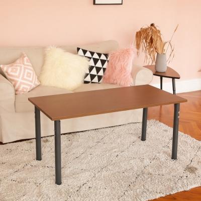 完美主義 高度可調圓腳工作桌/電腦桌/書桌/餐桌-140CM(8色)