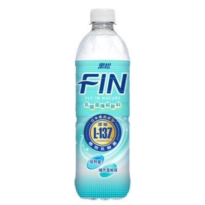 黑松 FIN乳酸菌補給飲料-乳酸風味(580mlx24入)