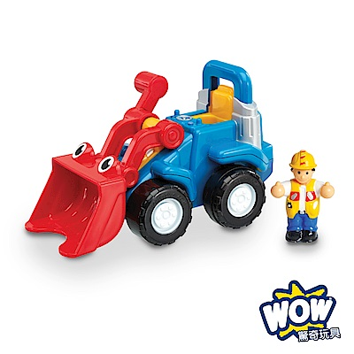 【WOW Toys 驚奇玩具】小山貓推土機-盧可