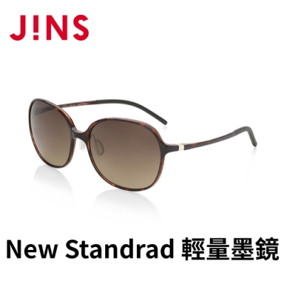 JINS&SUN New Standrad 輕量墨鏡(ALUF21S101) 木紋棕