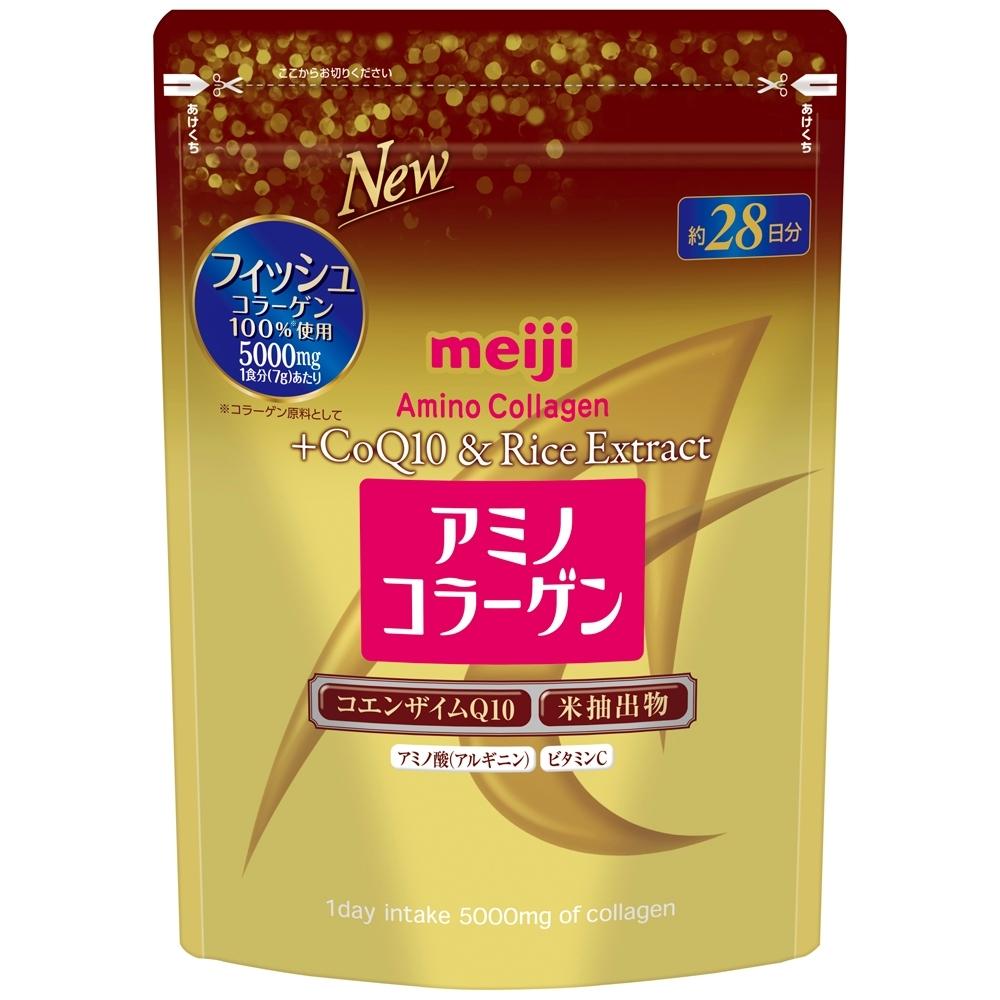 明治 膠原蛋白粉奢華版-璀璨金28日份袋裝(196g)