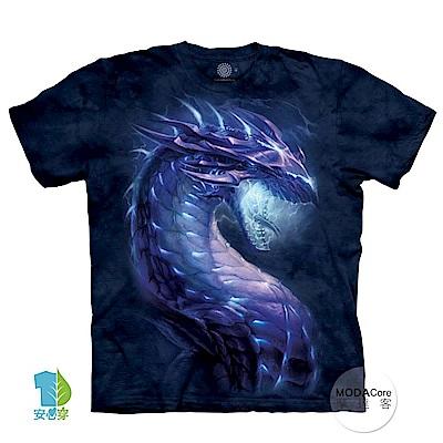 摩達客-美國進口The Mountain 風暴龍族 純棉環保藝術中性短袖T恤