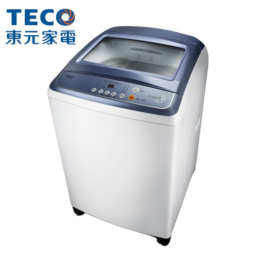 [時時樂限定]TECO東元 14公斤FUZZY人工智慧超音波定頻洗衣機(W1417UW)
