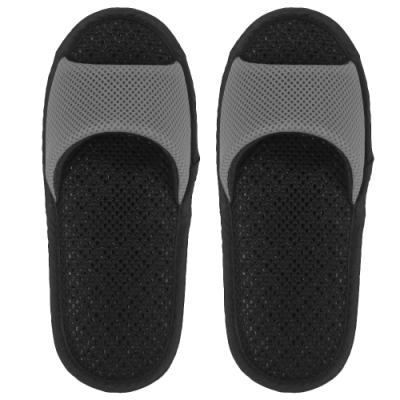 AC Rabbit 開口型低均壓氣墊拖鞋(馬卡龍色系)-古典灰