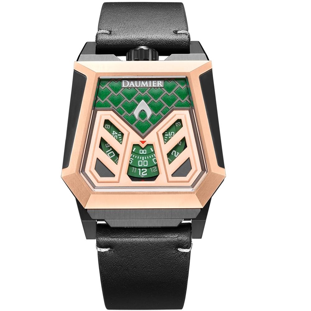 瑞士丹瑪DAUMIER正義聯盟DEVIA系列限量腕錶-水行俠