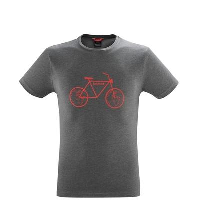 LAFUMA 男 ADVENTURE CYCLE 短袖排汗衣 深灰-LFV119109495