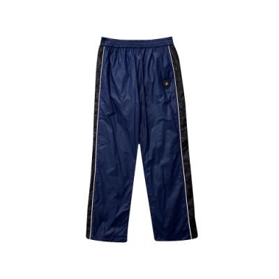 FILA KIDS 童風衣內刷長褲-寶藍 1PNT-8406-AB
