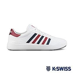 K-SWISS Heritage Light T休閒運動鞋-女-白/藍/紅