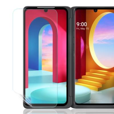 o-one大螢膜PRO LG Velvet 滿版全膠擴充配件兩入組螢幕保護貼 手機保護貼