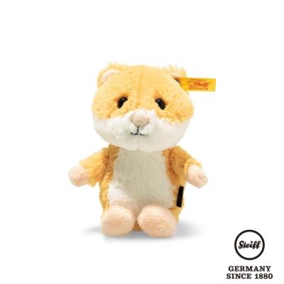 STEIFF德國金耳釦泰迪熊  Happy hamster  快樂的小倉鼠 (動物王國) 14cm