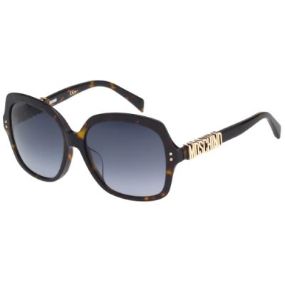 Moschino 經典字母款 太陽眼鏡(琥珀色)