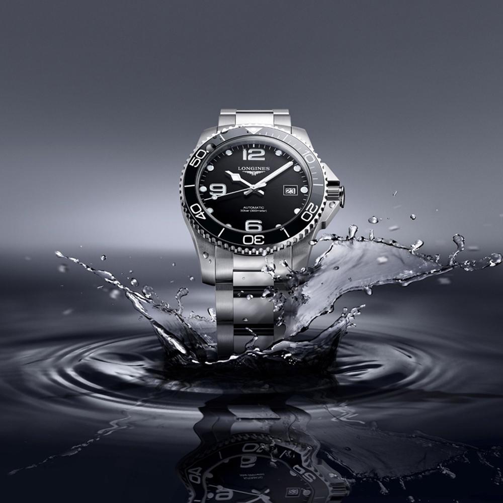 LONGINES 浪琴 深海征服者浪鬼陶瓷潛水機械錶-41mm