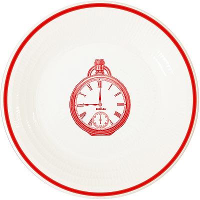 《EXCELSA》陶製平盤(懷錶紅)