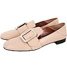 BALLY JANELLE 穿釦設計皮革穆勤鞋(裸膚色)