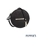 PEPPER'S Ellie 羊皮圓形零錢包 - 煙燻黑