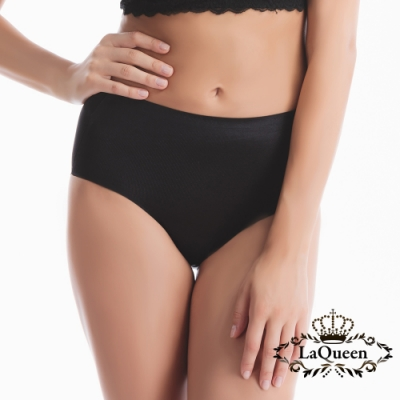 塑褲 冰絲無痕蠶絲輕塑褲-黑 La Queen