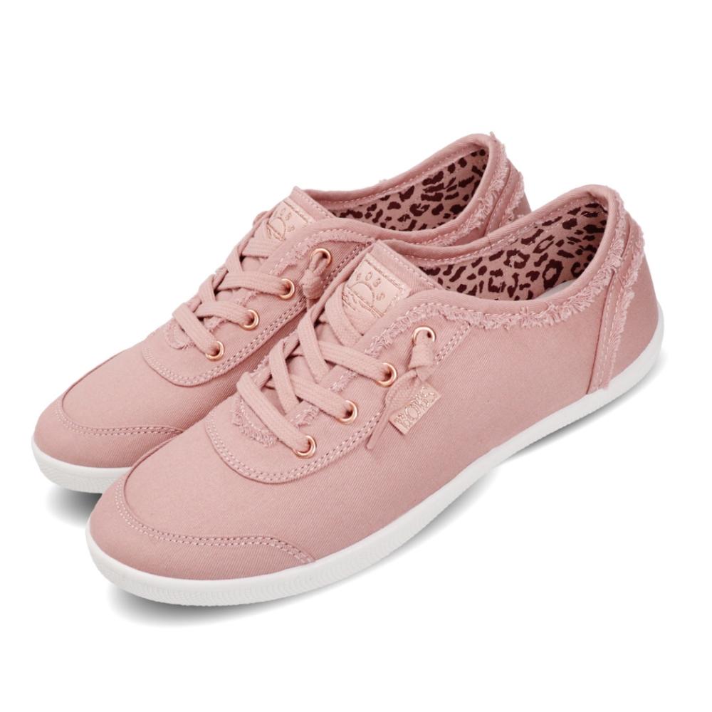 Skechers 休閒鞋 Bobs B Cute 復古 女鞋 簡約 避震 緩衝 穿搭 外出 粉 白 33492BLSH