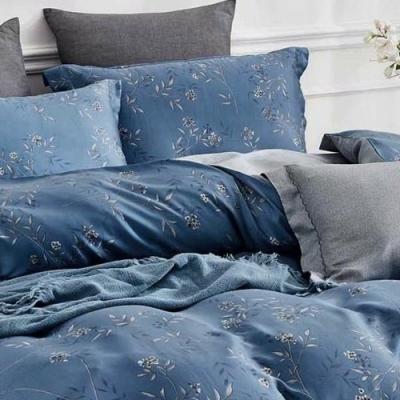 LAMINA 葉知秋 100%天絲枕套床包組 雙人