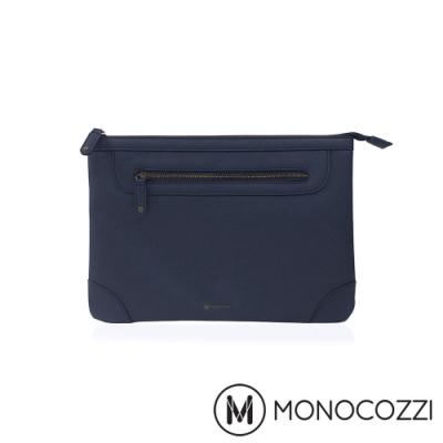 MONOCOZZI Posh 皮革保護內袋 for Macbook Air 11吋-深藍