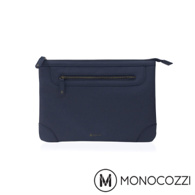 MONOCOZZI Posh 皮革保護內袋 MacBook Pro 13 -深藍