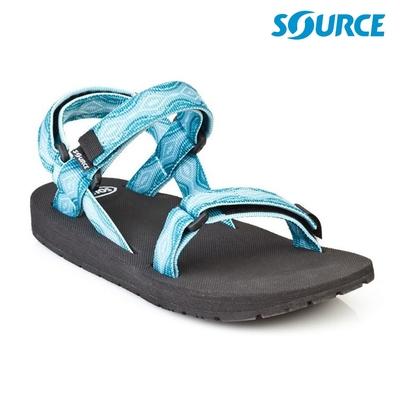 SOURCE 女 Classic 健走型運動涼鞋101012B5 / 夢幻藍