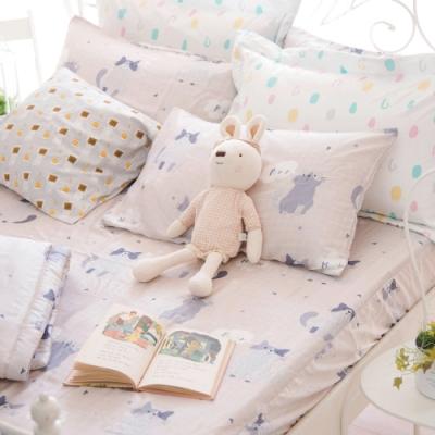 OLIVIA PUSSY 加大雙人床包美式枕套三件組 230織天絲TM萊賽爾 台灣製