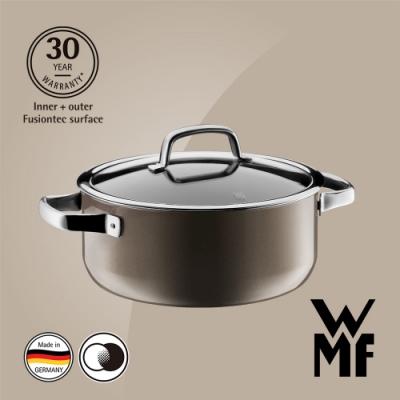 德國WMF Fusiontec 低身湯鍋24cm/4.4L-棕銅色(快)