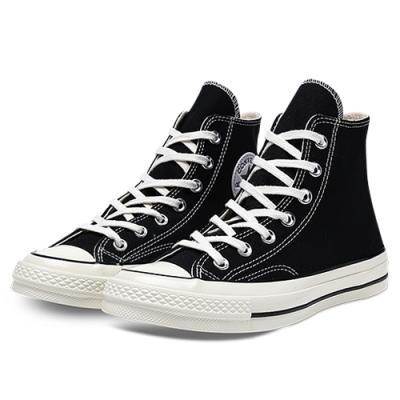 CONVERSE 1970 男女款 高筒帆布鞋-黑 162050C