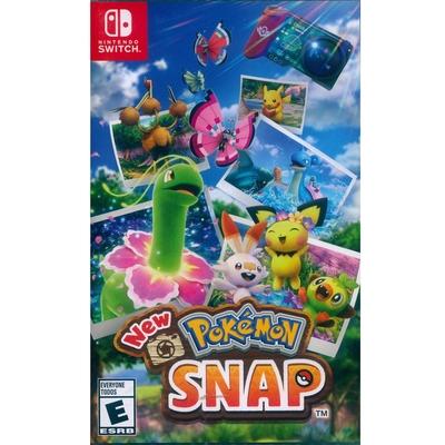 New 寶可夢隨樂拍 New Pokemon Snap - NS Switch 中英日文美版