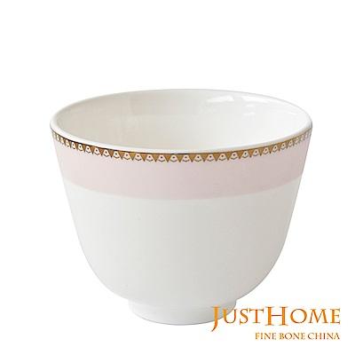 Just Home凡爾賽玫瑰高級骨瓷5入茶杯組