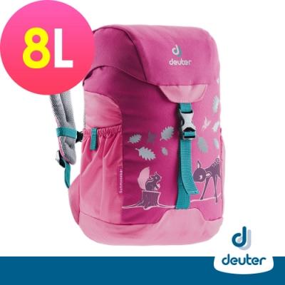 【德國DEUTER】SCHMUSEBAR 8L兒童背包/書包/旅遊包3612020桃粉