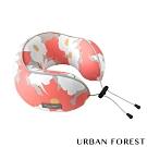 URBAN FOREST都市之森 花卷-旅行頸枕/午睡枕 (印花色)