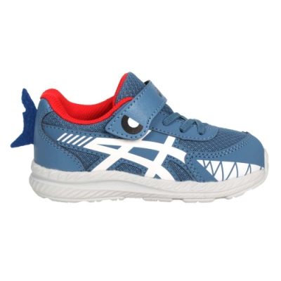 ASICS CONTEND 7 TS SCHOOL YARD男小童慢跑鞋 1014A202-404 墨藍白
