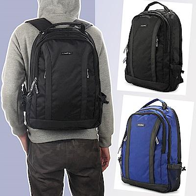 [時時樂]Calvin Klein 經典尼龍機能後背包-2色任選