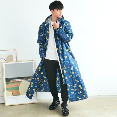 RAINSTORY怪獸PARTY連身雨衣(XL號)