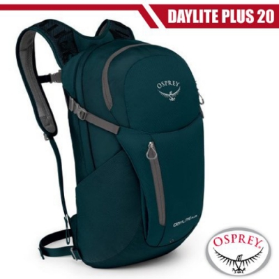OSPREY 新款 Daylite Plus 20L 超輕多功能隨身背包_汽油藍 R