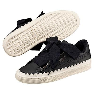 PUMA-BasketHeartScallopWns女籃球鞋-黑色