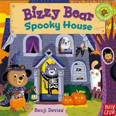 Bizzy Bear:Spooky House 鬼屋探險熊熊新奇操作書(英國版)
