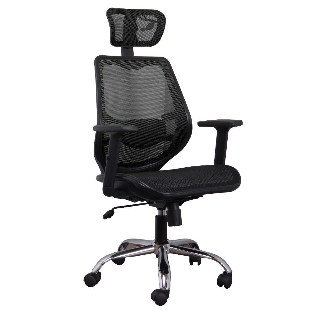LOGIS邏爵-納斯卡護腰壓框全網電腦椅 辦公椅 主管椅 工學椅6色
