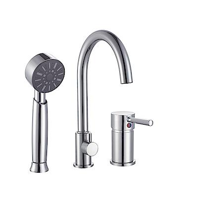 I-Bath YBT211-3 C形浴缸龍頭三件式