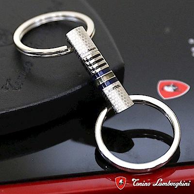 藍寶堅尼Tonino Lamborghini CORSA Blue鑰匙圈(藍) 防抗過敏