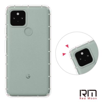 RedMoon Google Pixel 5 防摔透明TPU手機軟殼