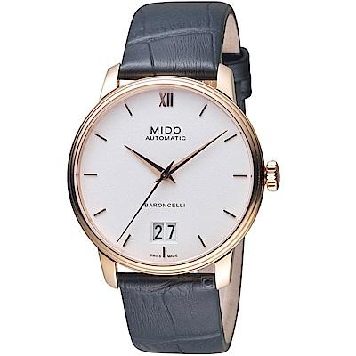 MIDO 美度 BARONCELLI永恆系列III 機械錶(M0274263601800)