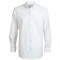 CR7-雙扣領牛津襯衫-白(8610-7300-500)
