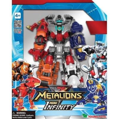 任選 炫風騎士 迷你 無限YT14041 合體機器人METALIONS