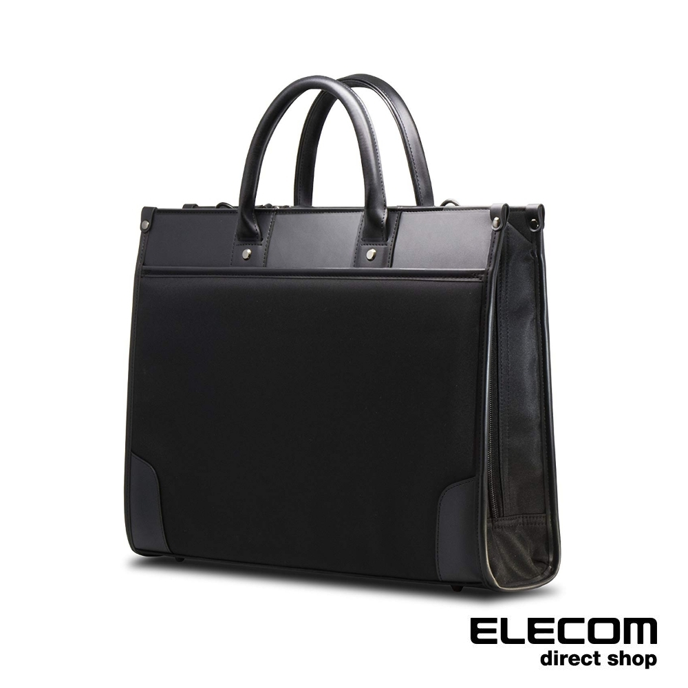 ELECOM 2WAY自立式公事包13.3吋F01-黑